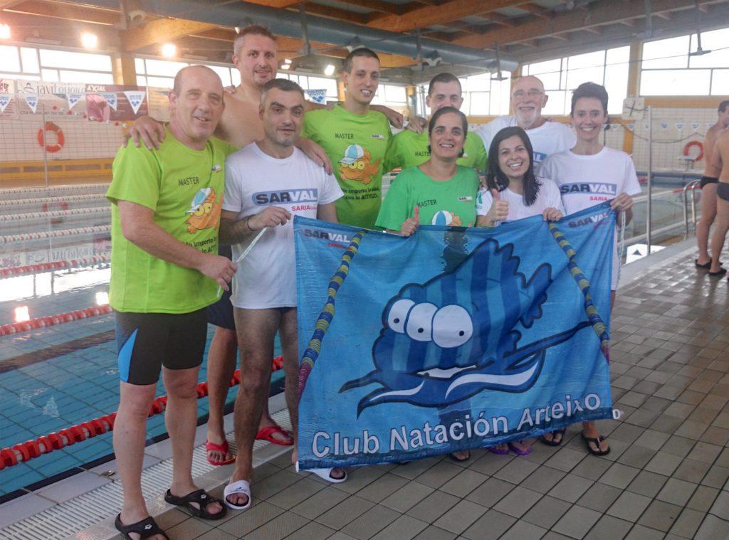 Campionato galego m ster club nataci n arteixo for Piscina arteixo