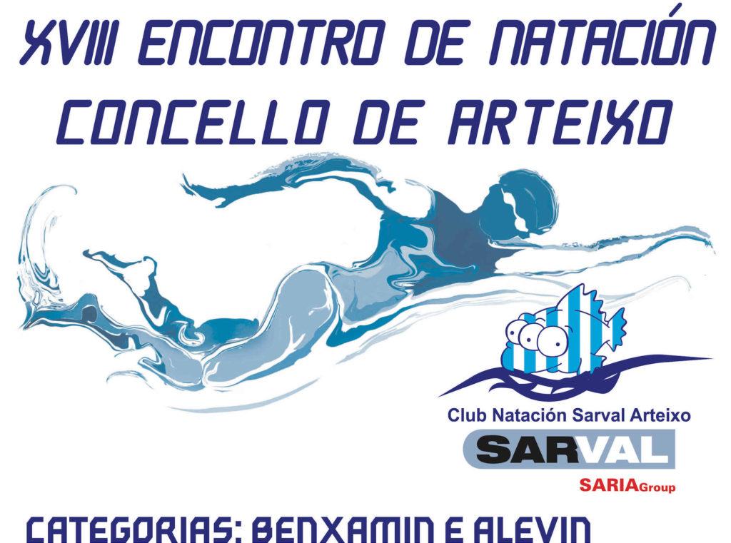 Xviii encontro de nataci n concello de arteixo club for Piscina arteixo